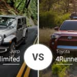 Jeep Wrangler Unlimited Vs. Toyota 4Runner