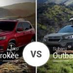 Jeep Cherokee Vs. Subaru Outback