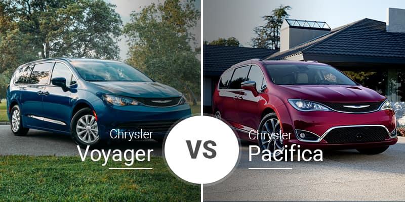 2020 Chrysler Pacifica Vs 2020 Chrysler Pacifica