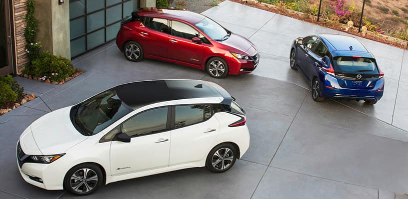 Drive Green in a 2018 Nissan Leaf - Garber Nissan on Bay Road