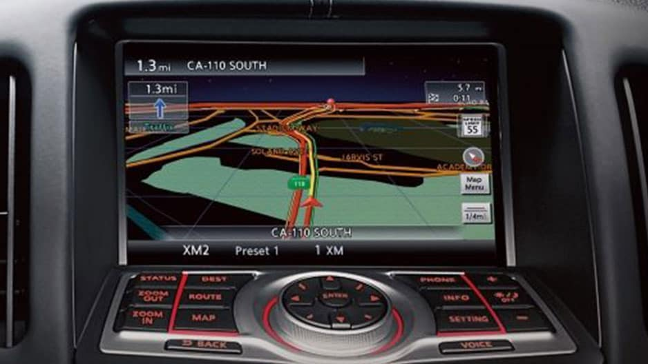 Technology Features of the New Nissan 370Z at Garber in Saginaw, MI