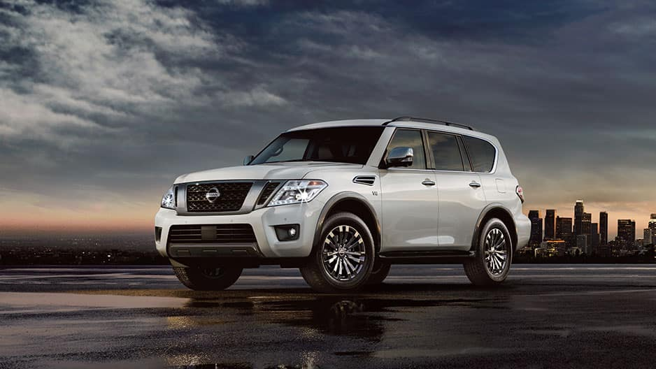 Exterior Features of the New Nissan Armada at Garber in Saginaw, MI