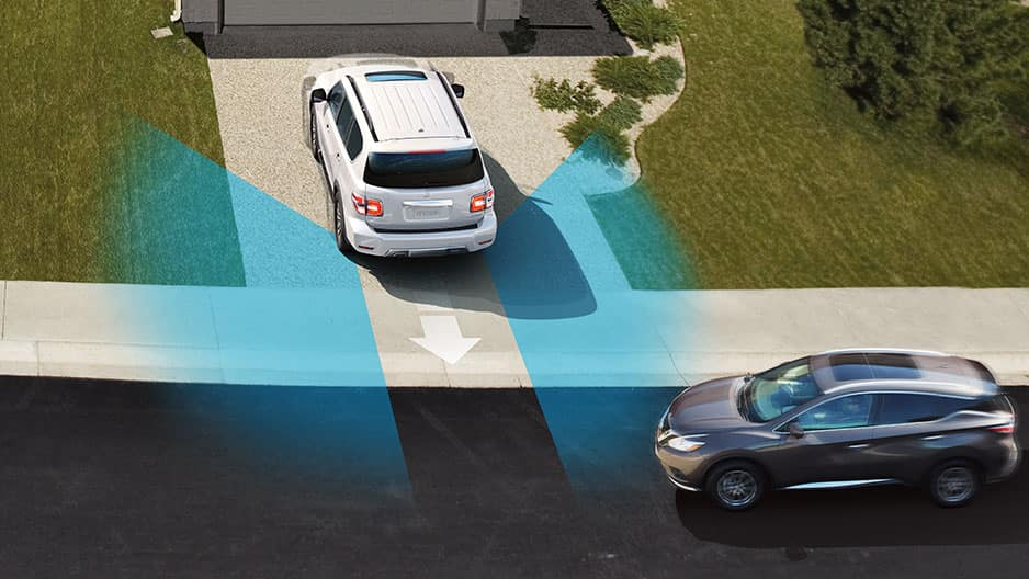 Safety Features of the New Nissan Armada at Garber in Saginaw, MI