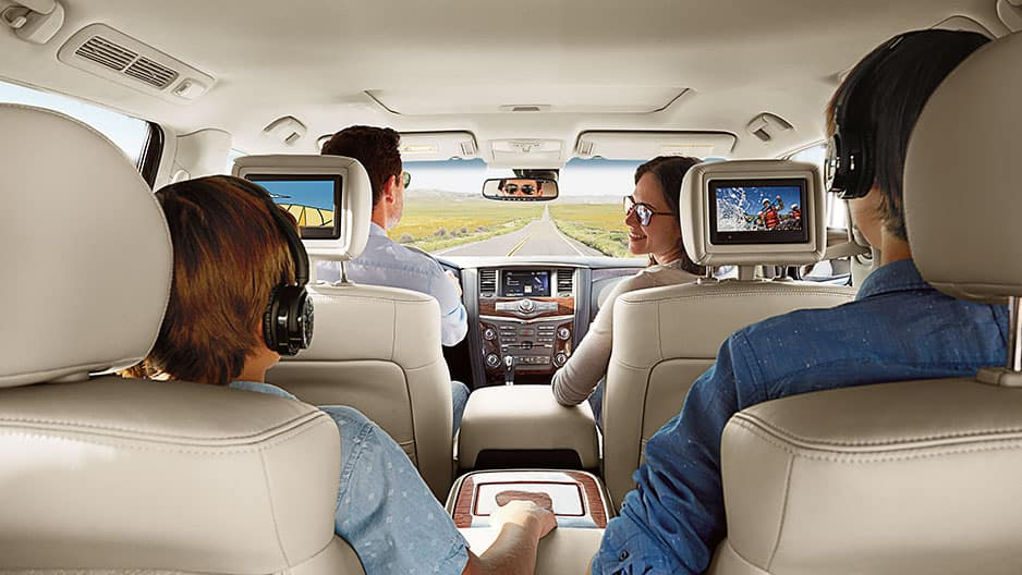 Technology Features of the New Nissan Armada at Garber in Saginaw, MI