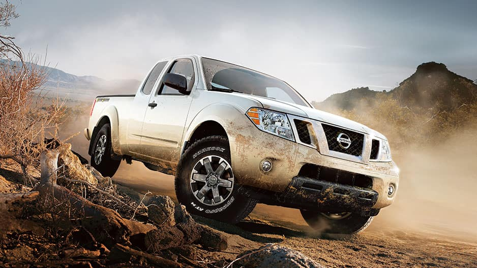 Exterior Features of the New Nissan Frontier at Garber in Saginaw, MI