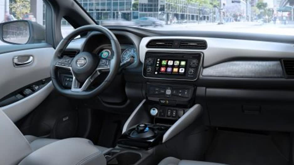 Technology Features of the New Nissan Leaf at Garber in Saginaw, MI