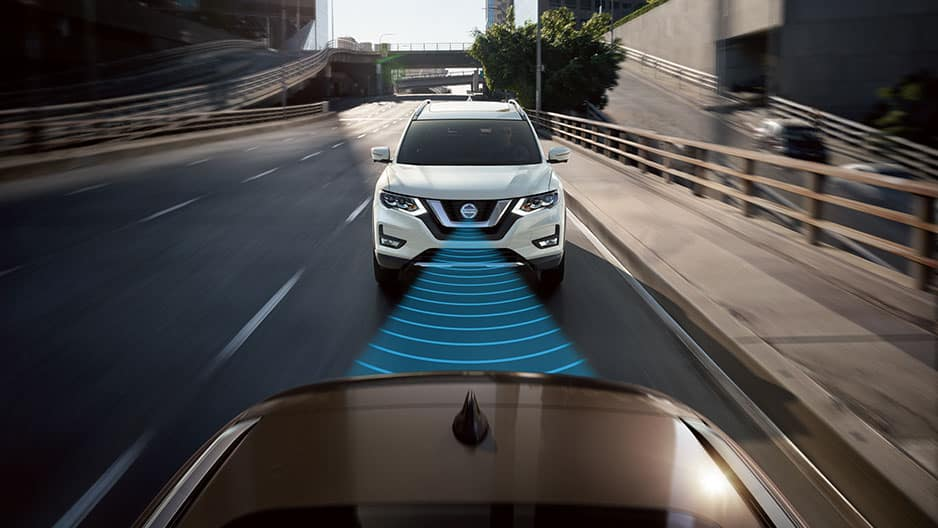 Safety Features of the New Nissan Rogue at Garber in Saginaw, MI