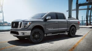 Exterior Features of the New Nissan Titan at Garber in Saginaw, MI