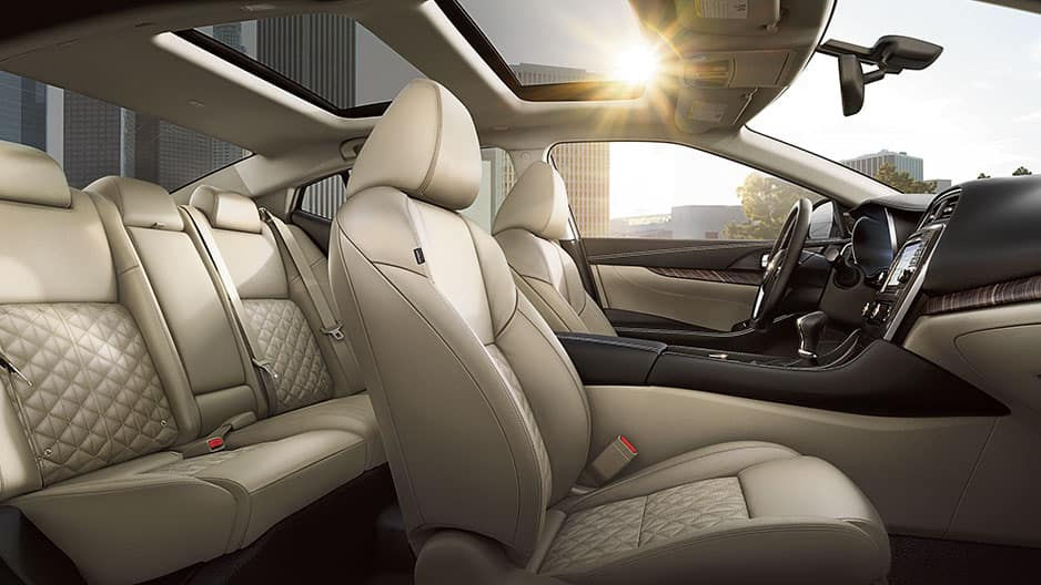Interior Features of the New Nissan Maxima at Garber in Saginaw, MI