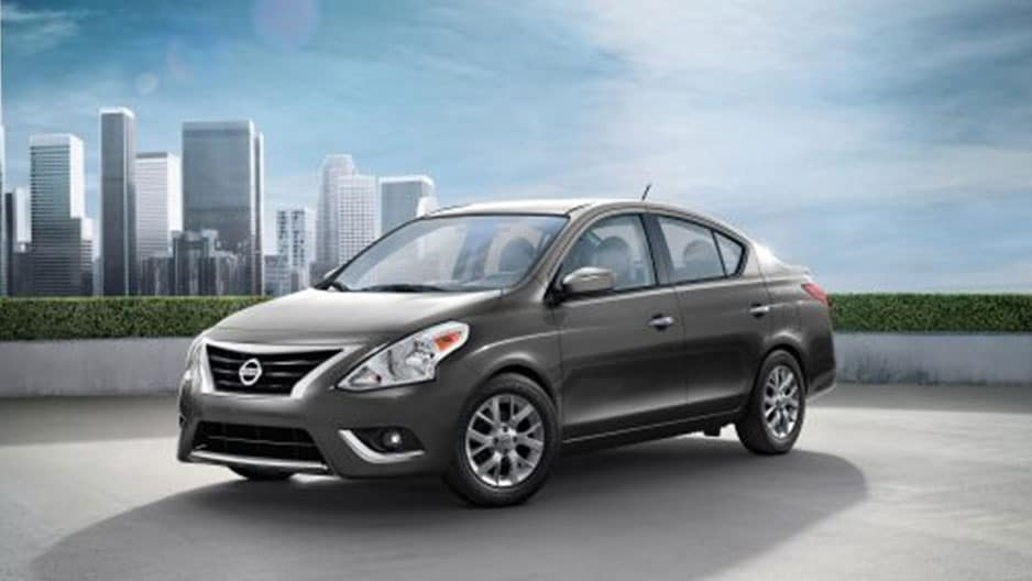 Exterior Features of the New Nissan Versa Sedan at Garber in Saginaw, MI