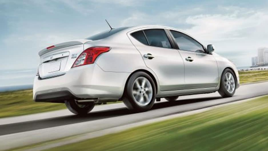 Performance Features of the New Nissan Versa Sedan at Garber in Saginaw, MI