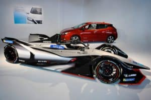 Nissan Formula E race car