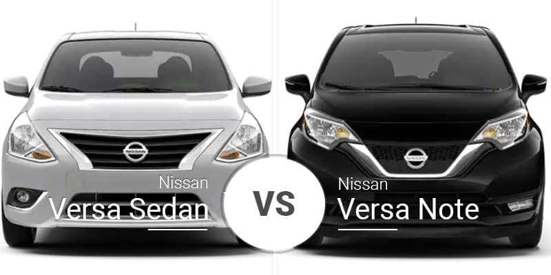 Nissan Versa Vs Nissan Versa Note Brother Battle It Out