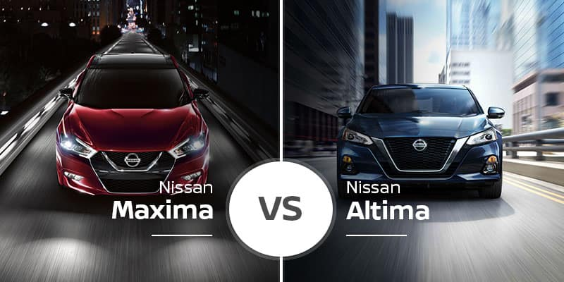 Nissan Maxima Vs  Nissan Altima: Cross-Showroom Showdown