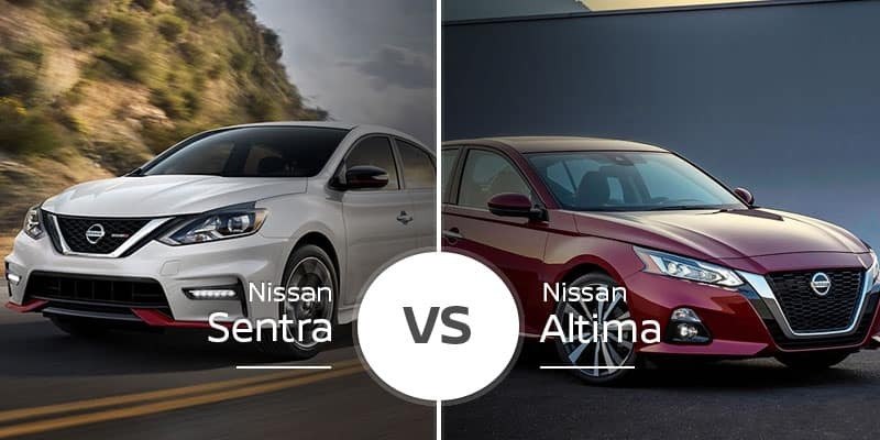 Nissan Sentra Vs  Nissan Altima: Which Fits You, Midsize or