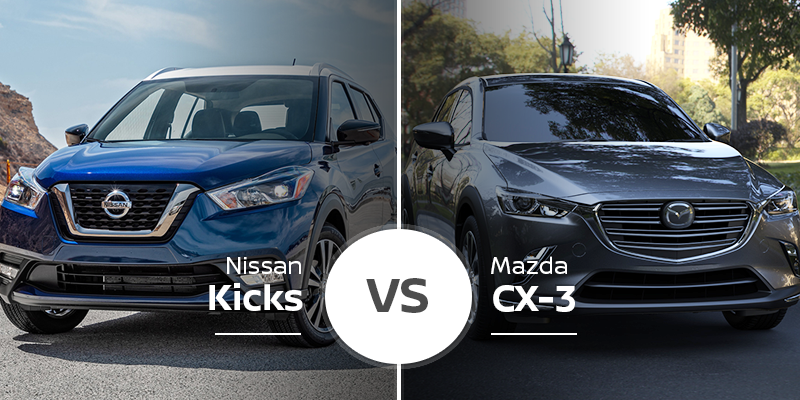 Mazda Cx 3 >> Nissan Kicks Vs Mazda Cx 3