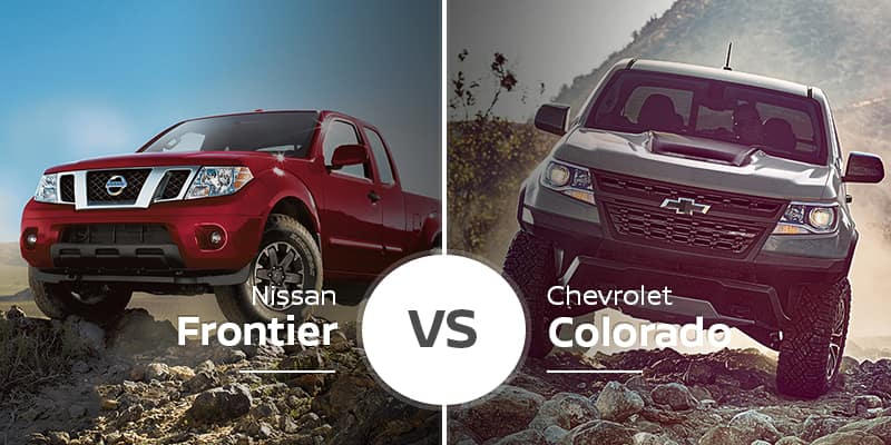 Nissan Frontier Vs Chevy Colorado