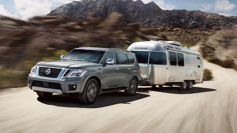 Performance Features of the New Nissan Armada at Garber in Saginaw, MI