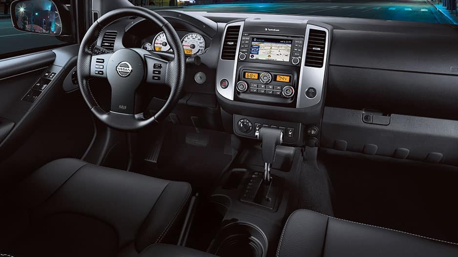 Interior Features of the New Nissan Frontier at Garber in Saginaw, MI