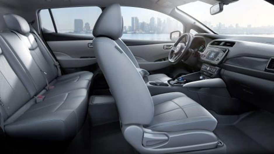 Interior Features of the New Nissan Leaf at Garber in Saginaw, MI