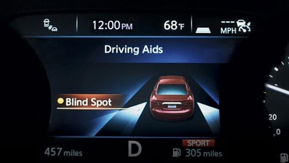 Safety Features of the New Nissan Maxima at Garber in Saginaw, MI