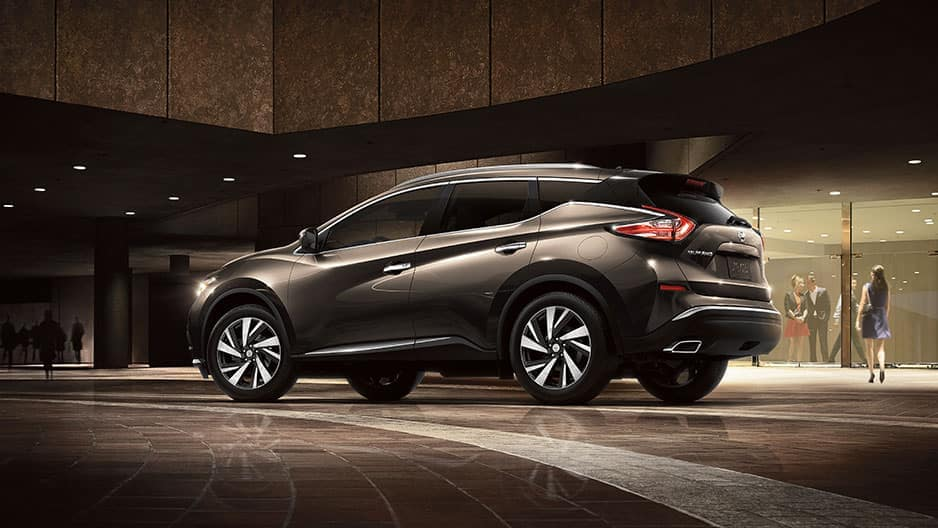 Exterior Features of the New Nissan Murano at Garber in Saginaw, MI