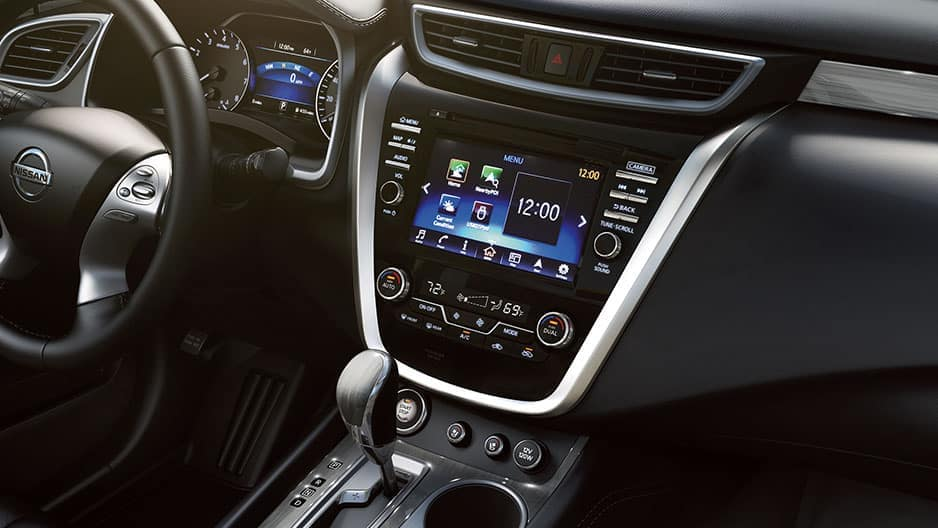 Technology Features of the New Nissan Murano at Garber in Saginaw, MI
