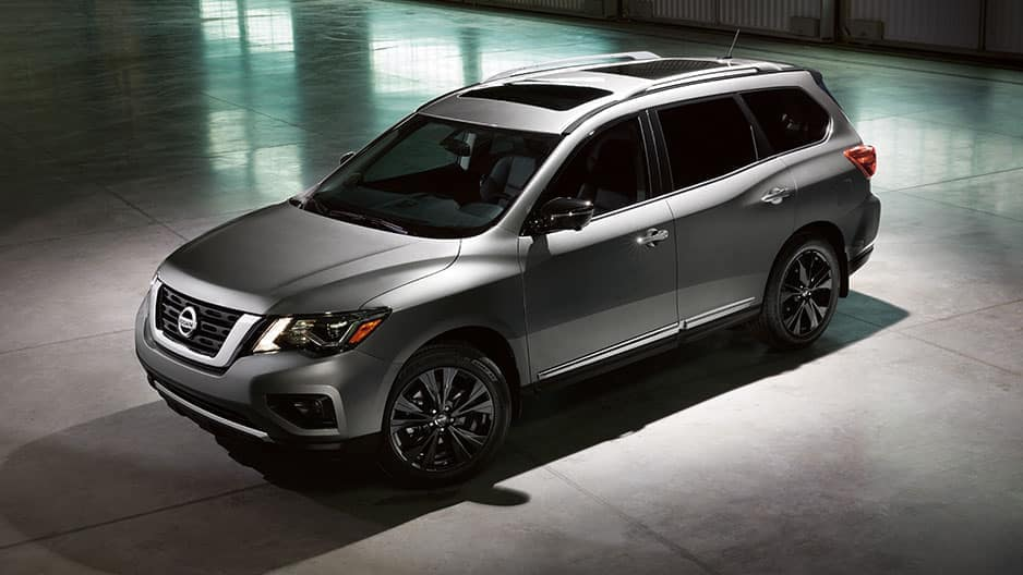 Exterior Features of the New Nissan Pathfinder at Garber in Saginaw, MI