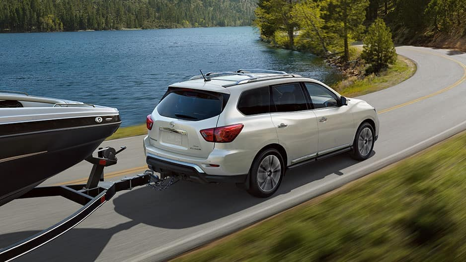 Performance Features of the New Nissan Pathfinder at Garber in Saginaw, MI