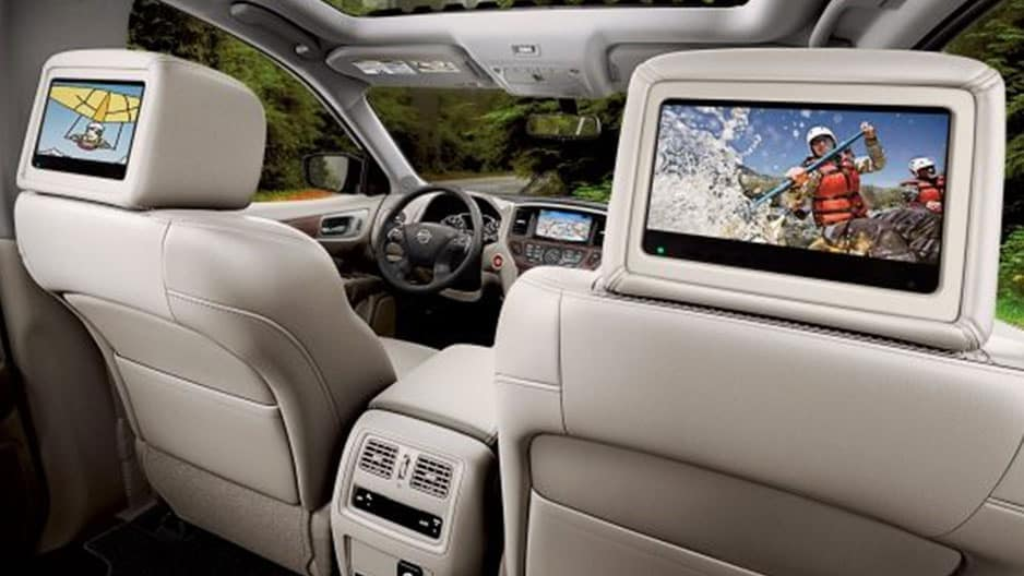 Technology Features of the New Nissan Pathfinder at Garber in Saginaw, MI
