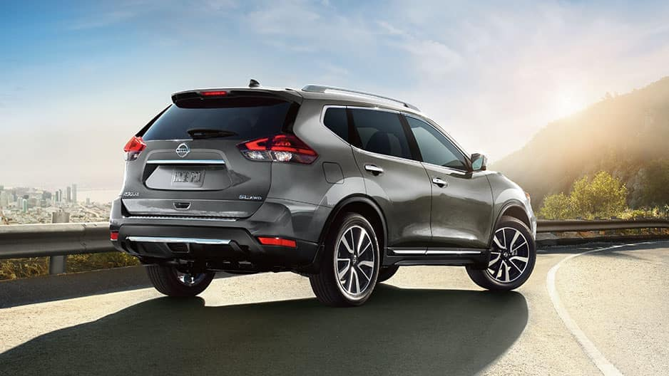 Exterior Features of the New Nissan Rogue at Garber in Saginaw, MI