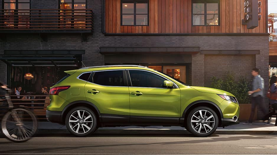 Exterior Features of the New Nissan Rogue Sport at Garber in Saginaw, MI