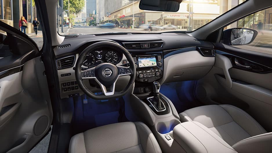 Interior Features of the New Nissan Rogue Sport at Garber in Saginaw, MI