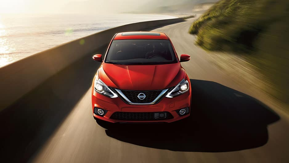 Exterior Features of the New Nissan Sentra at Garber in Saginaw, MI