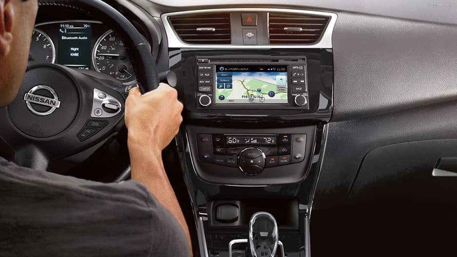 Technology Features of the New Nissan Sentra at Garber in Saginaw, MI