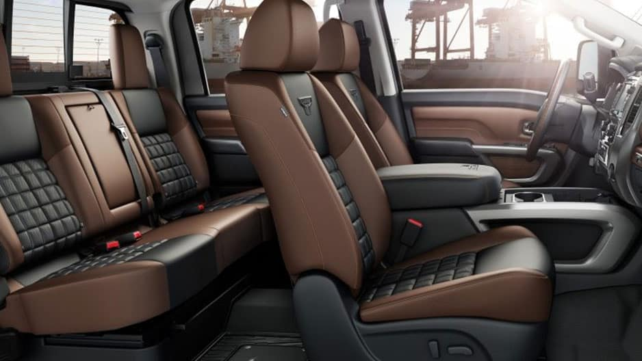 Interior Features of the New Nissan Titan at Garber in Saginaw, MI