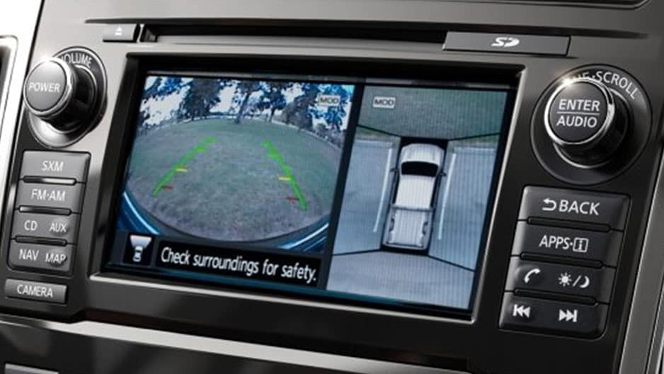 Safety Features of the New Nissan Titan at Garber in Saginaw, MI