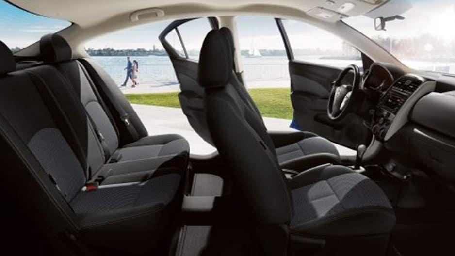 Interior Features of the New Nissan Versa Sedan at Garber in Saginaw, MI