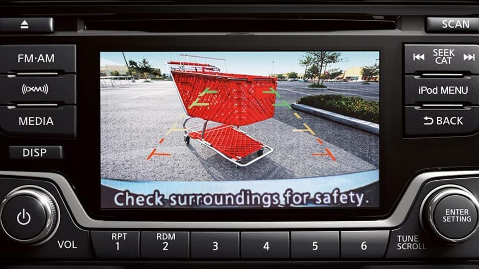 Safety Features of the New Nissan Versa Sedan at Garber in Saginaw, MI