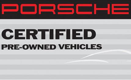 Certified Pre-owned Porsche