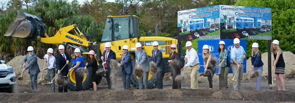 Germain honda breaks new ground in naples florida for Florida department of motor vehicles naples fl