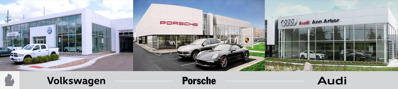 Germain Ann Arbor Porsche Volkswagen And Audi Dealerships