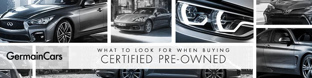 what to look for when buying certified pre-owned vehicle