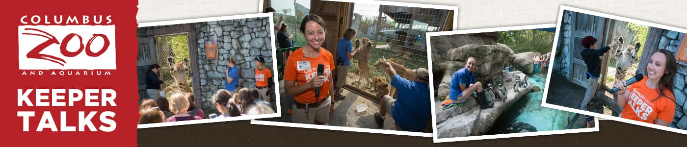 Germain Columbus Zoo Keeper Talks