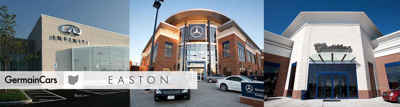 Germain Dealerships in Easton Town Center Ohio