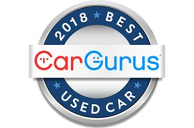 2018 CarGurus Best Used Car Award