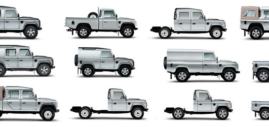 Land Rover Defender Body Styles