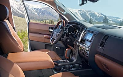 Toyota Sequoia Interior 01