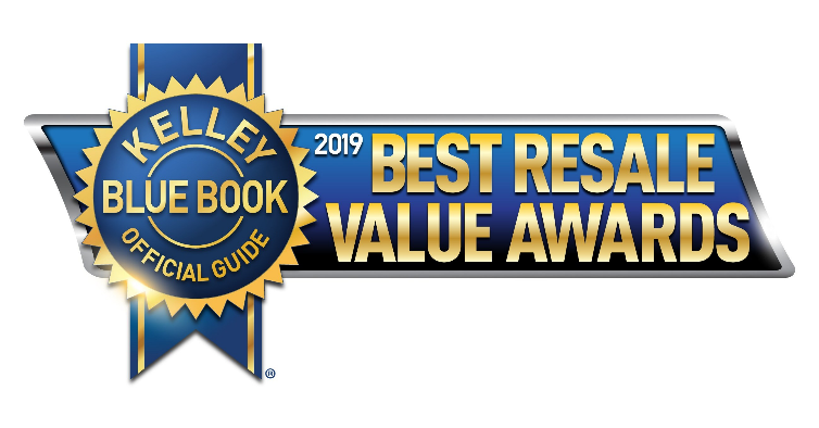 Kelley Blue Book 2019 Best Resale Value Awards Best Luxury Midsize SUV/Crossover