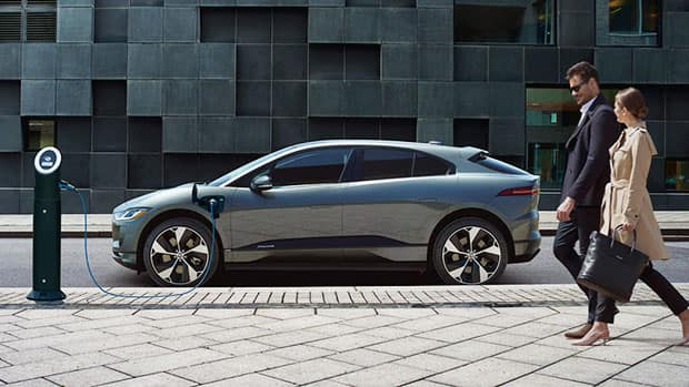 2019 Jaguar I-PACE Charging Station